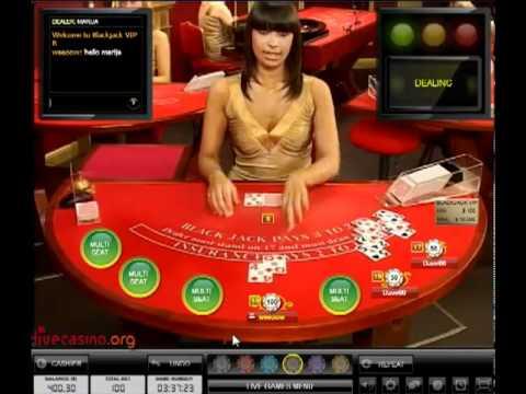 Live blackjack online for high rollers
