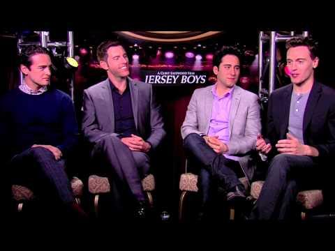 Vincent Piazza, Michael Lomenda, John Lloyd Young & Erich Bergen: JERSEY BOYS