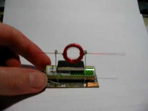 Small diy electric motor youtube for Very small electric motors