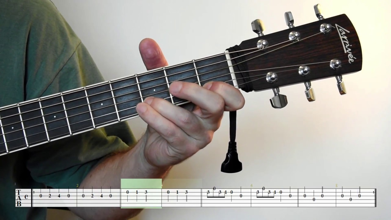 Guitar Lesson Frre Jacques Brother John Youtube