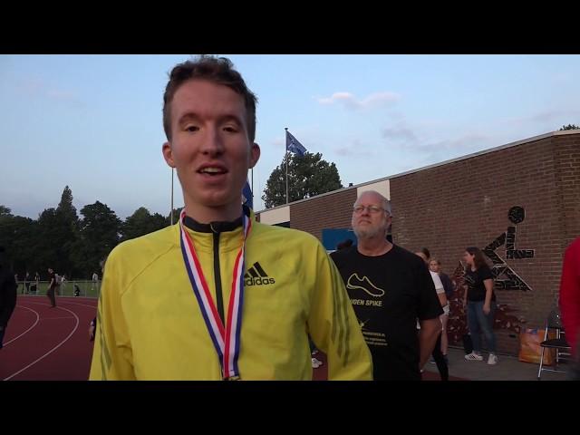 Bart van Nunen - NK 10km Gouden Spike