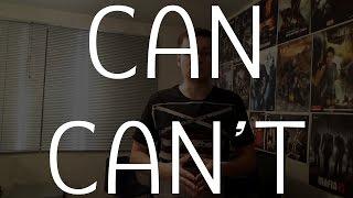 Can и Can't [могу / не могу - простой урок]