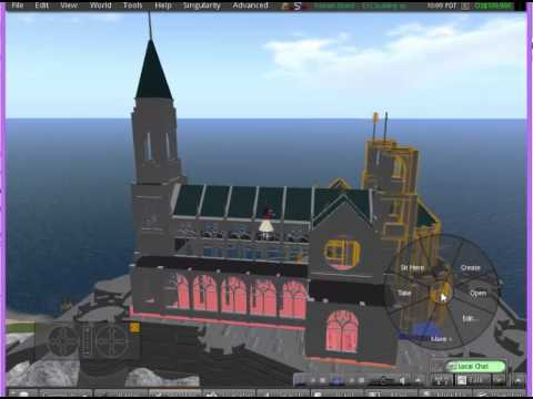 Using the cathedral on Marian Island