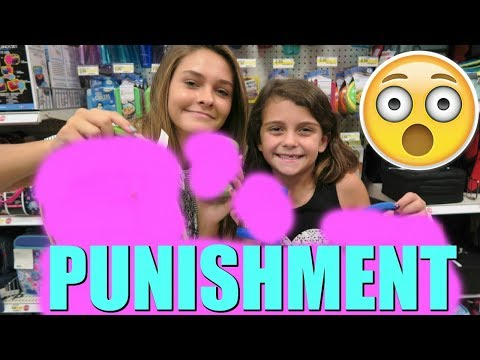 GETTING THEIR  PUNISHMENT! PRANKING EMMA! BTS SHOPPING IS OVER?