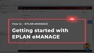 Getting started with EPLAN eMANAGE Free