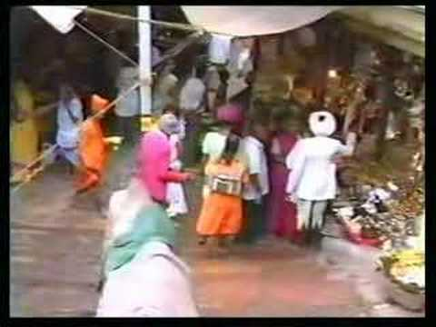 The sacred temple of Omkareshwar (Madhya Pradesh)