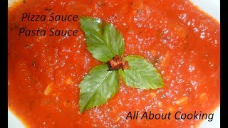 Pizza Sauce / Pasta Sauce Recipe | Homemade Pizza Sauce recipe