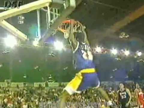 Eddie Jones 2-handed 360 dunk (1995)