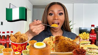 NIGERIAN FAST FOOD MUKBANG - I WAS SO HUNGRY!