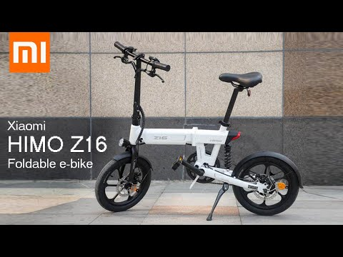 Himo Z16 A Foldable Electric Bike By Xiaomi Everything You Need