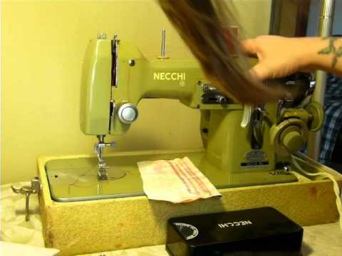 NIFTYTHRIFTYGIRL Part 40 Of 40 NECCHI BU MIRA SEWING MACHINE WITH Interesting Necchi Bf Mira Sewing Machine