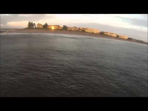 Tarpon fishing off of stuart florida during mullet run 2015