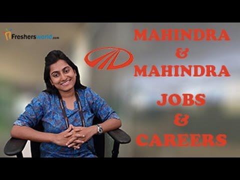 MAHINDRA & MAHINDRA – Recruitment Notifications, Automobile Manufacturing Jobs,Career, Oppurtunities