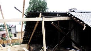 Монтаж стропильной системы крыши (двускатной, мансардной крыши), монтаж пароизоляции.(В этом видео я постараюсь рассказать о том как мы делали монтаж стропильной системы крыши (двускатной, манс..., 2015-08-23T01:04:24.000Z)