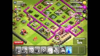 Clash of Clans - Testing Healer Changes! (Giant-Healer Attacks)