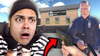 PERFORMING A BANK ROBBERY !!! (Sneak Thief)
