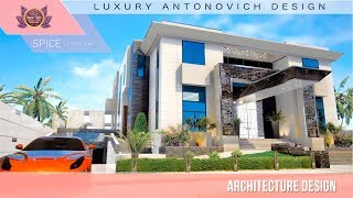 Exclusive House Plan By Luxury Antonovich Design! Landscaping & Renovation Works In Nigeria!