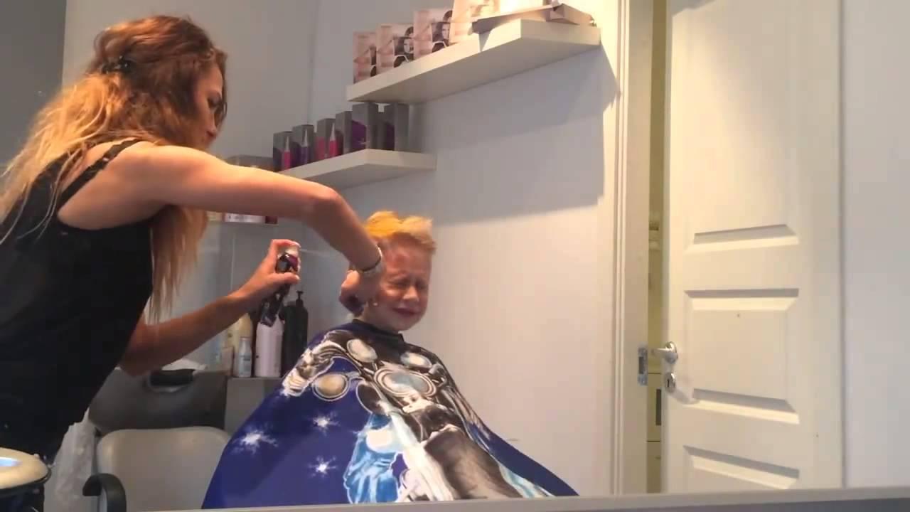 Fryzura Dla Chłopca Alex Youtube