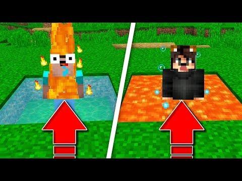 ATEŞ VE SUDAN SON ÇIKAN KAZANIR! 😱 - Minecraft