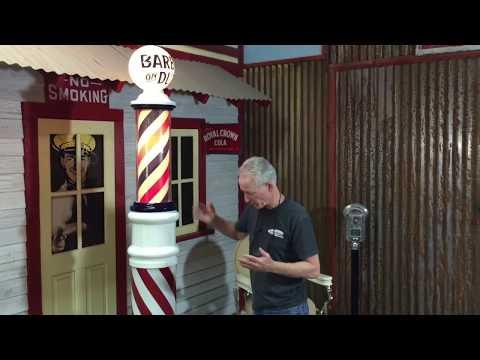 1920's Paidar Barbershop Pole