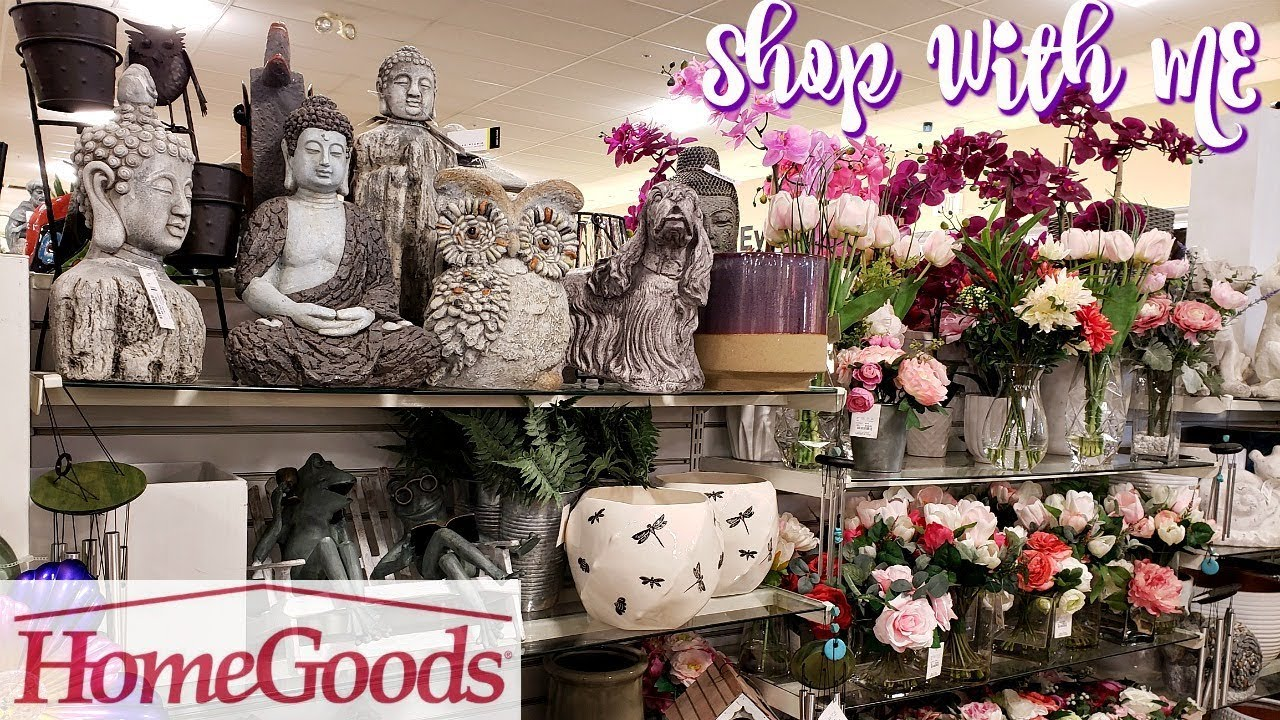 Homegoods Spring Home Decor Shop With Me 2019 Youtube