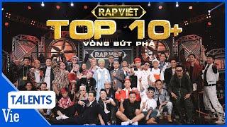 TOP 10+ tiết mục bùng nổ gây tiếng vang tại VÒNG BỨT PHÁ RAP VIỆT   Rap Việt Best Collection