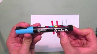 Getting Started with Posca Paint Pens - Part 1