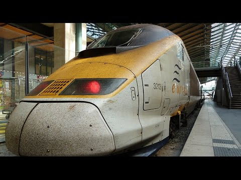 Breve reseña de nuestro viaje en el Eurostar de Londres a París - Esoslugares.com