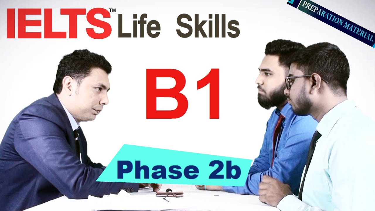 IELTS Life Skills B1 Phase 2b ( a friend is trying to decide which job to  do)