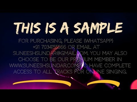 Maaliniyude theerangal remix karaoke with synced lyrics