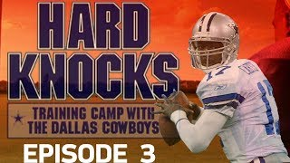 Starting QB is Chosen & WR Competition Heats Up | '02 Cowboys Hard Knocks Ep. 3 | NFL Vault
