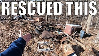 EXPLORING An Abandoned Dump Site and Salvaging Some Items