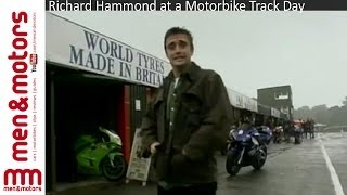 Richard Hammond at a Motorbike Track Day