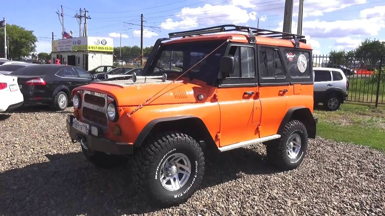 УАЗ 31514 с двигателем от Тойоты 1KZ-TE на автомате. Обзор (интерьер, экстерьер, двигатель).