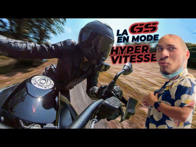 Grosse arsouille avec une moto de papy ! 👴😱 feat @Lara RM