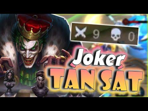 [Liên Quân]Cầm Chúa Hề Joker Đi Ad Dồn Combo Bao Phê - Team Bạn Bốc Hơi Trong Nháy Mắt