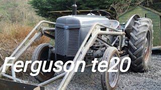 I Brought a vintage tractor! Ferguson tea20