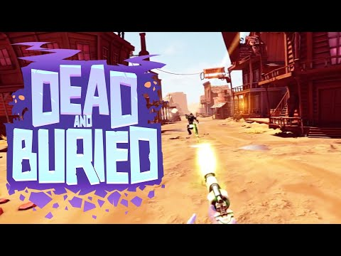 Oculus Rift + Touch Free Game Dead and Buried Western shootout (360 VR game))