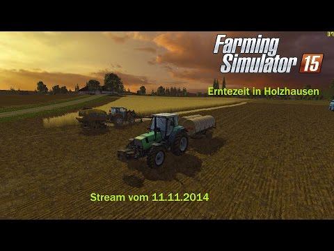 GER* Erntezeit in Holzhausen Stream vom 11 11 2014 - 2 / 2