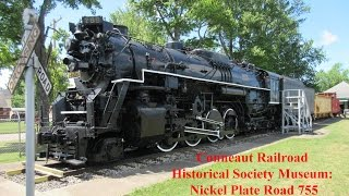 Conneaut Railroad Historical Society Museum: Nickel Plate Road 755