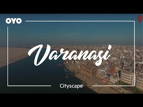 A stunning aerial view of Varanasi shot by an OYO Explorer
