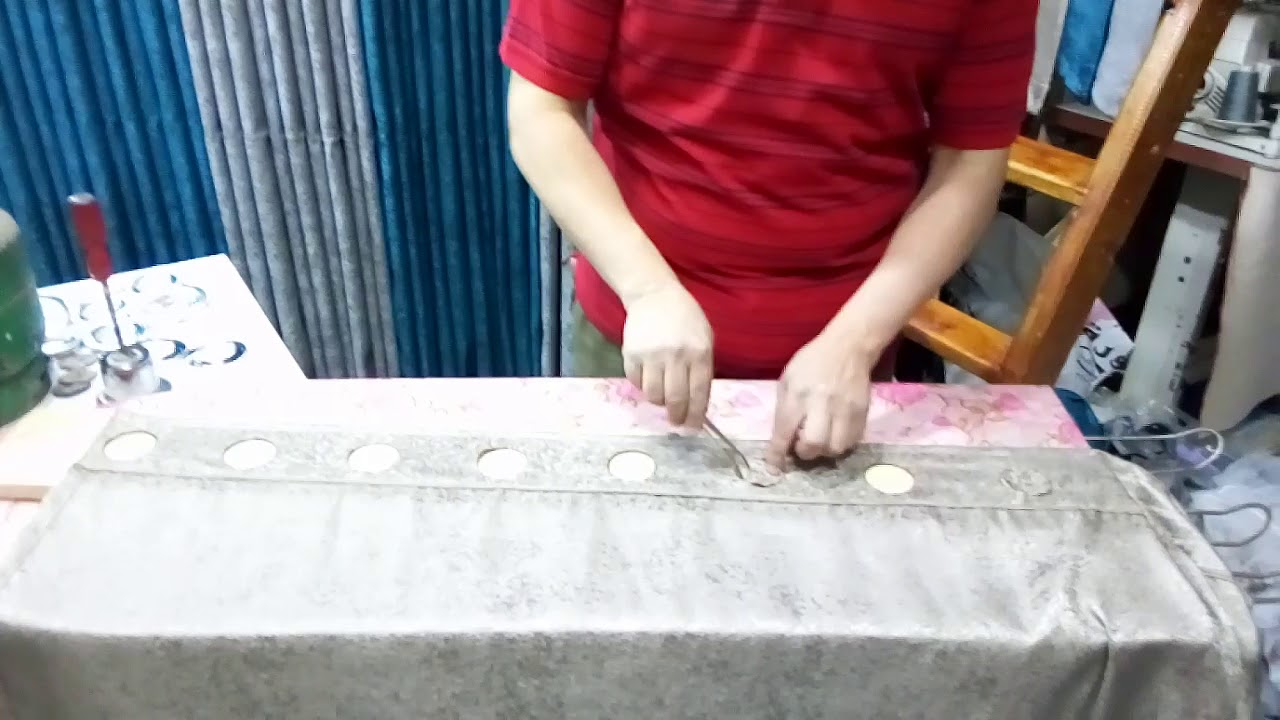 شرح عمل خرامه للحلق المفرغ ب 7 جنيه فقط Decorative Tray Curtains Home Decor