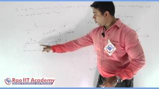 Scalars And Vectors Part 1 Physics Board video lecture By Rao IIT Academy