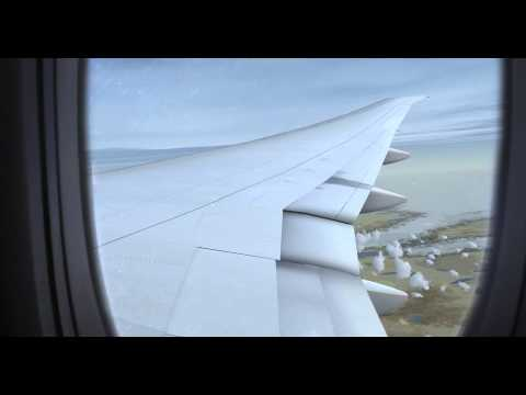 FSX HD | Paris to Minneapolis | Air France PMDG 777-300ER |