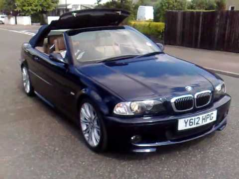 e46 bmw convertible roof down youtube. Black Bedroom Furniture Sets. Home Design Ideas