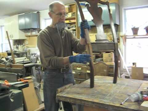 Restoring A Chippendale Chair   Thomas Johnson Antique Furniture Restoration    YouTube