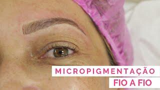 Micropigmentação fio a fio - por Gislene Ribeiro