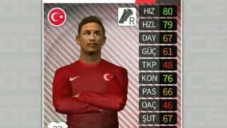 dream league en iyi türk kadrosu
