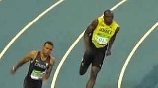 2016 Usain Bolt Rio Olympic Athletics M 200m Semifinals