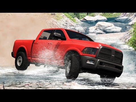 Off Road Crashes #19 - BeamNG DRIVE | SmashChan |
